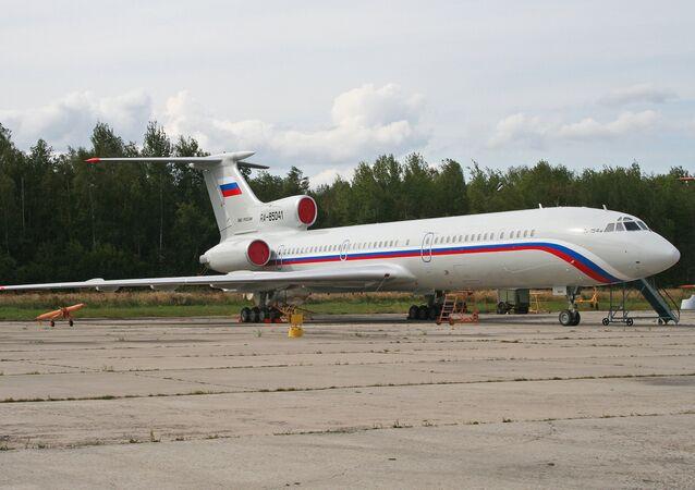 Aereo Tu-154M