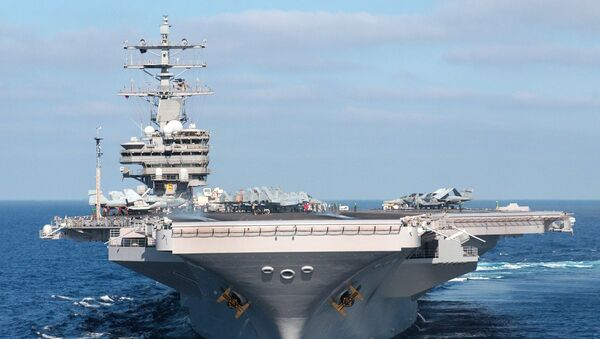 USS Ronald Reagan - Sputnik Italia