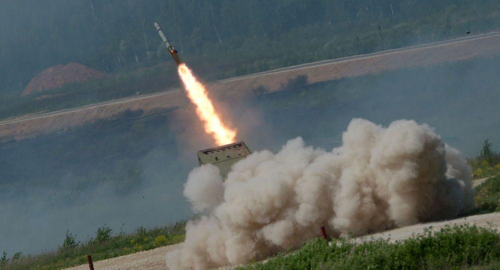 Sistema lanciafiamme pesante TOS-1A Solntsepek