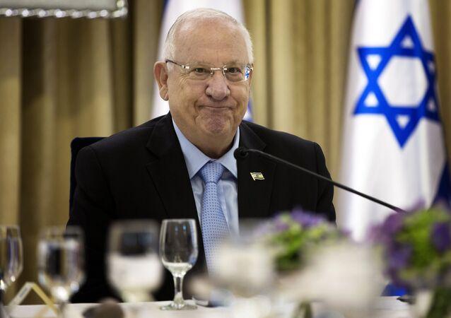 Il presidente israeliano Reuven Rivlin