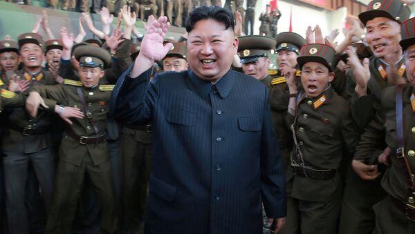 La reazione di Kim Jong UN al lancio - Sputnik Italia