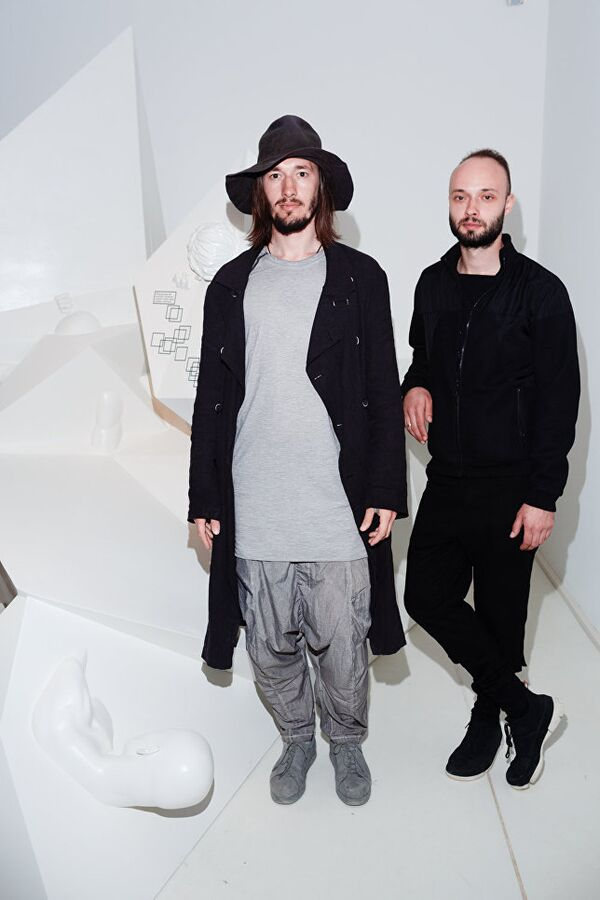Il duo di artisti di Krasnodar Recycle - Sputnik Italia