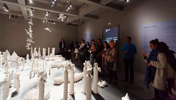 Un'installazione del padiglione russo alla Biennale - Sputnik Italia