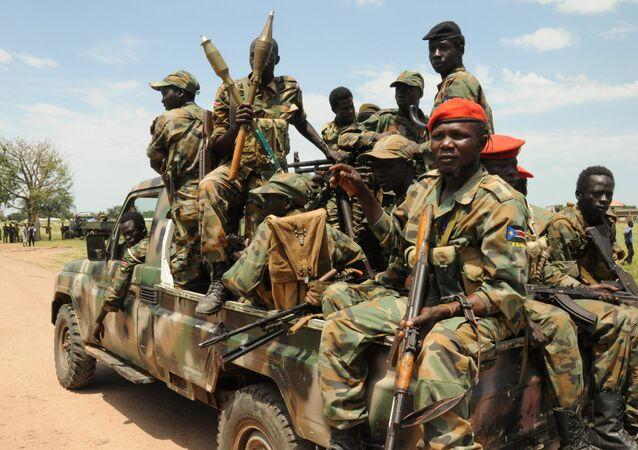 Ribelli nel Sudan del Sud