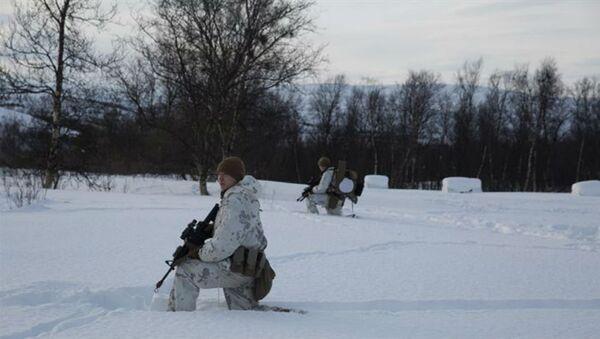 I soldati americani in Norvegia - Sputnik Italia