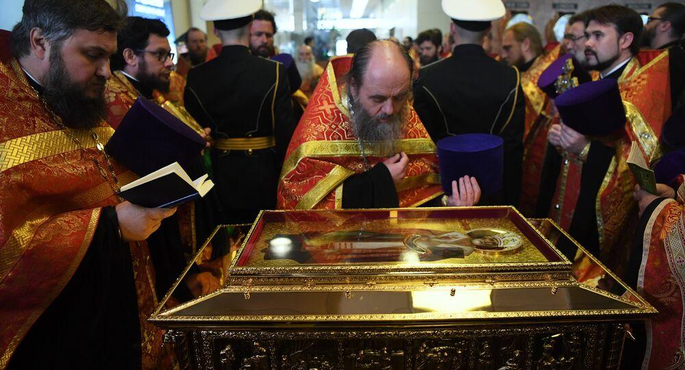 Le reliquie di San Nicola arrivano a Mosca per la prima volta