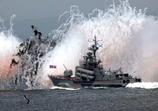 Esercitazioni navali della Flotta del Pacifico a Vladivostok