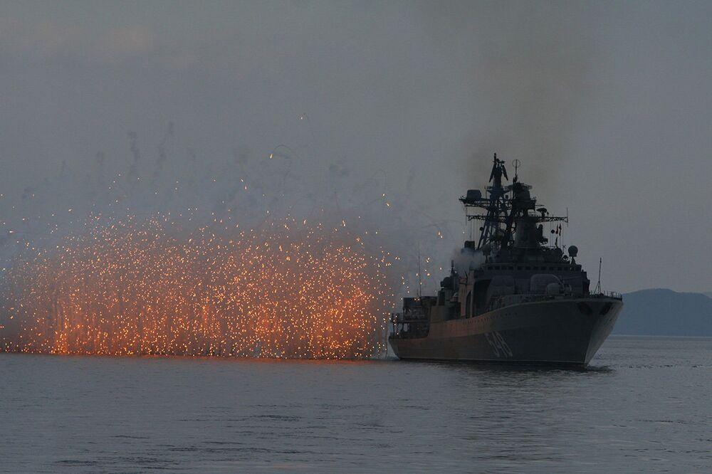 A guardia dell'Oriente, la potenza della Flotta Russa del Pacifico