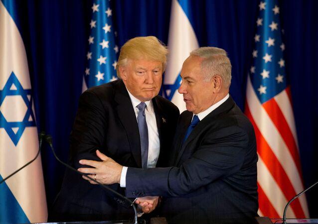Donald Trump and e Benjamin Netanyahu (foto d'archivio)