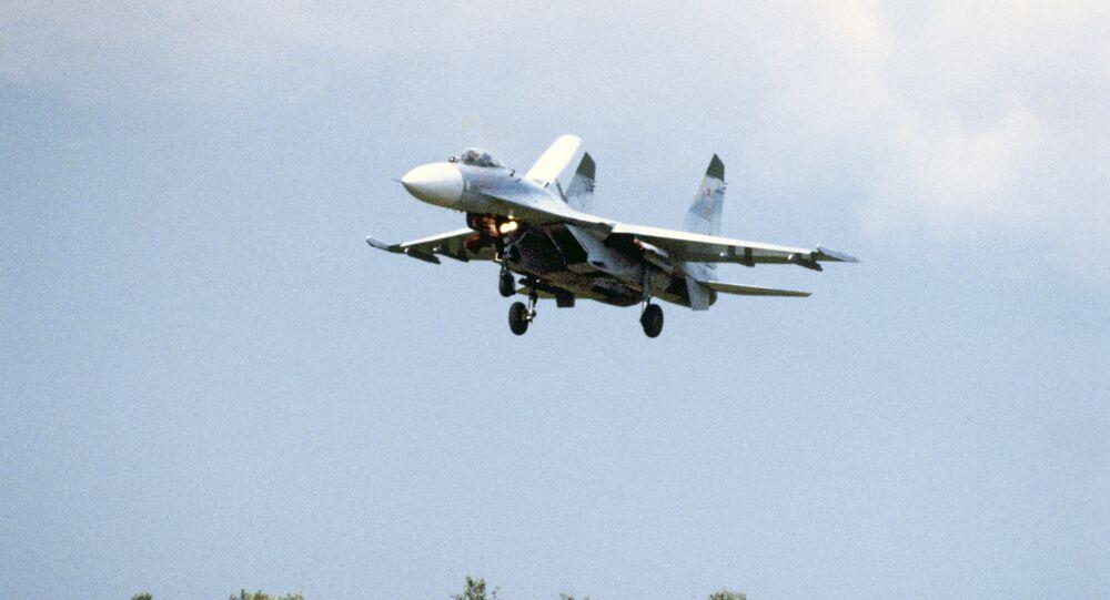 Su-27 (foto d'archivio)