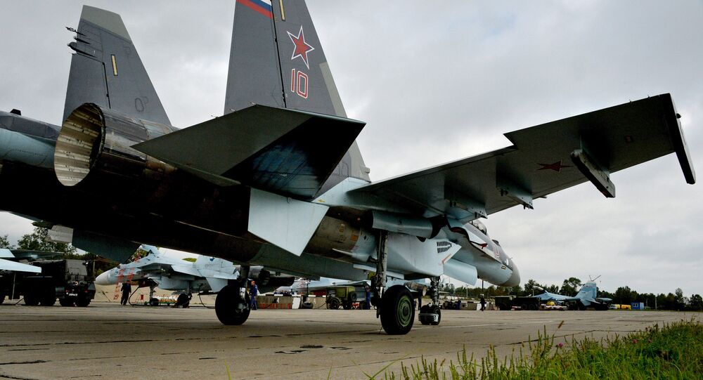 Tactical air force exercise in Russia's Primorye Territory
