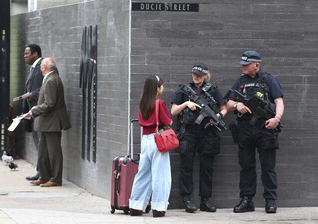 Controlli per strada a Manchester