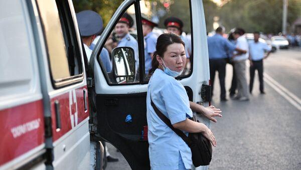 Un paramedico in Kyrghizistan. - Sputnik Italia