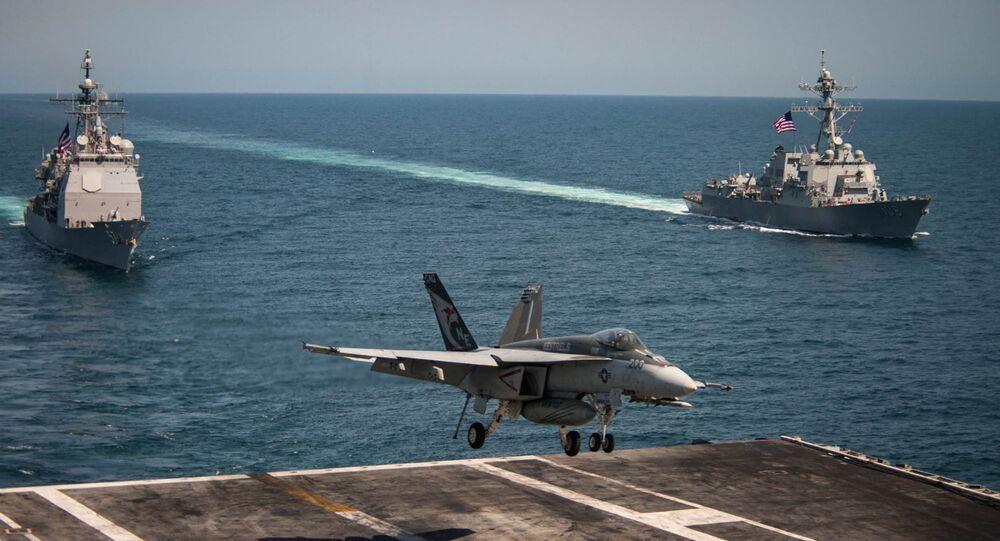 gli assaltatori F/A-18E/F Super Hornet