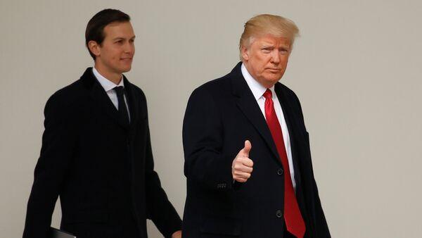 Donald Trump e Jared Kushner - Sputnik Italia