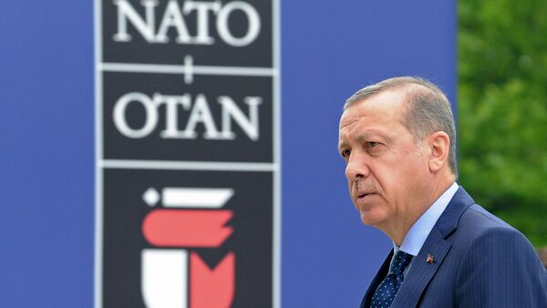 Recep Tayyip Erdogan al vertice NATO di Varsavia - Sputnik Italia