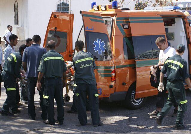 Ambulanza, Egitto