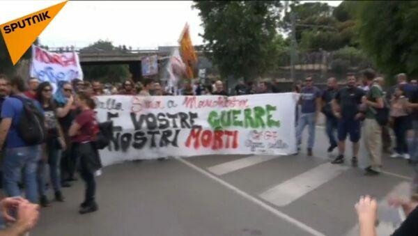 Italia, proteste contro il vertice G7 - Sputnik Italia