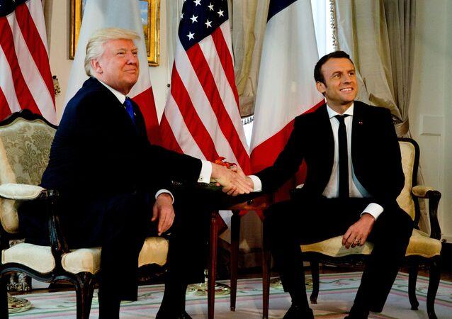 Trump e Macron