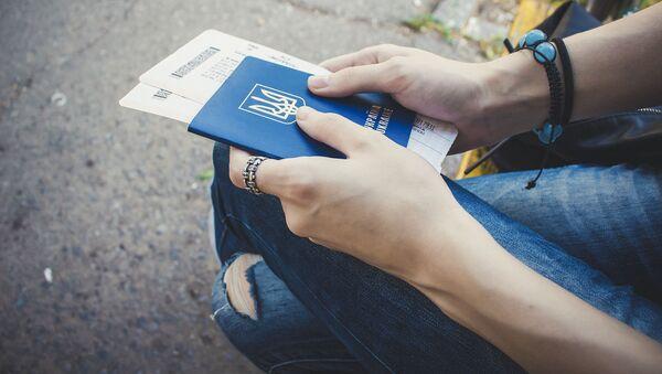 Passaporto ucraino - Sputnik Italia