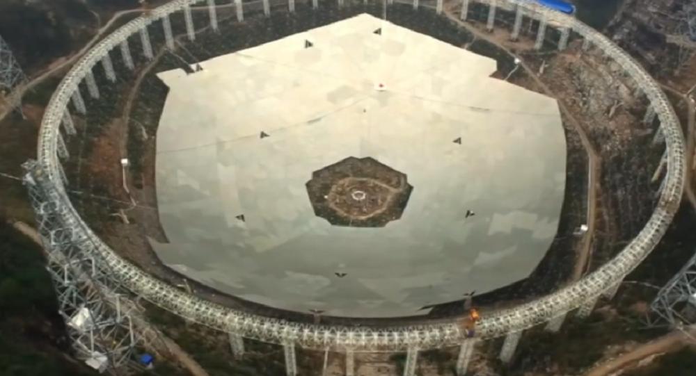 Telescopio cinese in costruzione