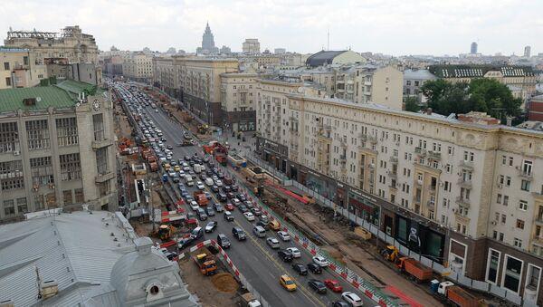 La via Tverskaya di Mosca - Sputnik Italia