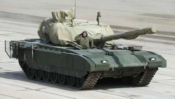 Armata heavy military tracked vehicle platform - Sputnik Italia