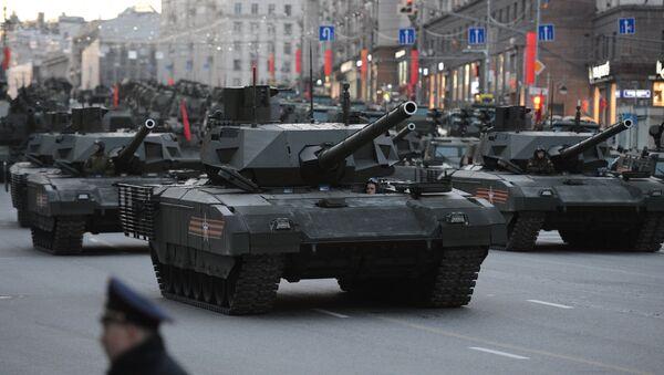 T-14 tanks with the Armata Universal Combat Platforms - Sputnik Italia