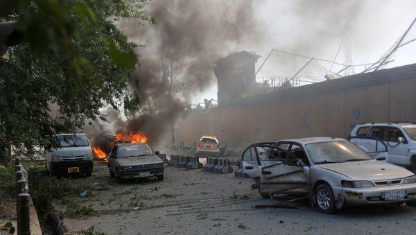 L'attentato suicida a Kabul, Afghanistan. - Sputnik Italia