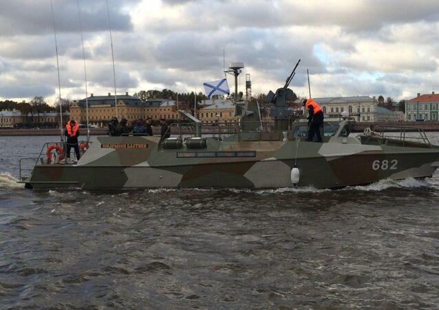 Il nuovo motoscafo militare Raptor