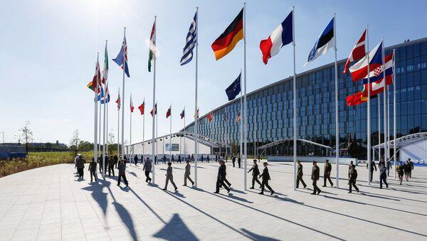 Il quartiergenerale della NATO a Bruxelles  - Sputnik Italia