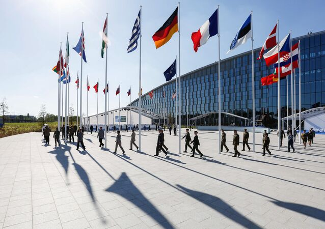 Il quartiergenerale della NATO a Bruxelles