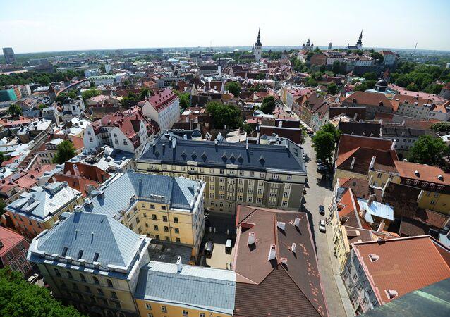 Una vista di Tallinn