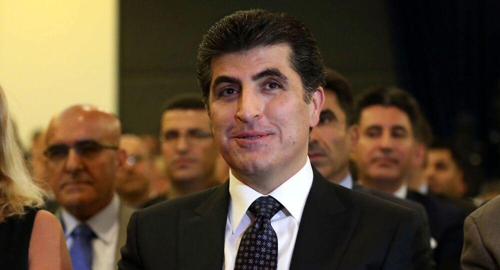 Il primo ministro del governo regionale del Kurdistan iracheno Nechirvan Barzani