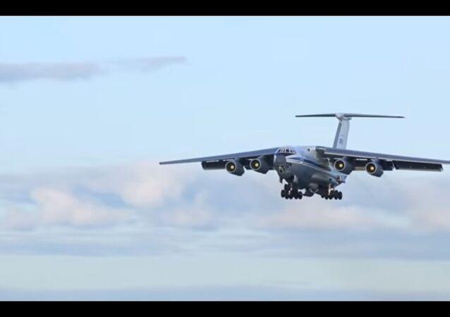 La Giornata dell'aeronuatica militare da trasporto russa.