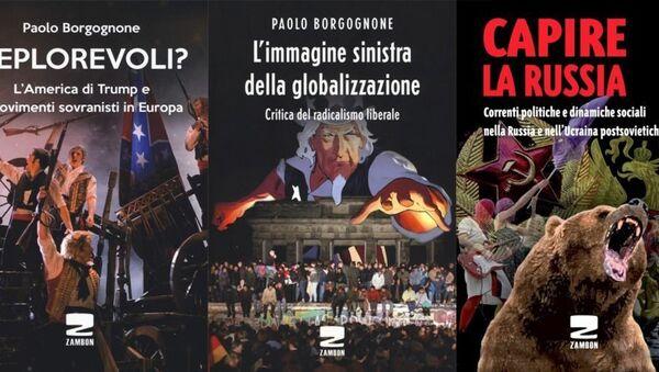 Paolo Borgognone, Libri - Sputnik Italia
