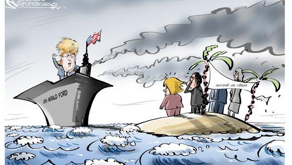 Trump e Accordi di Parigi - Sputnik Italia