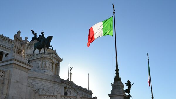La bandiera dell'Italia - Sputnik Italia