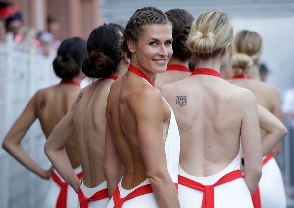 Grid girls al Gran Premio di Formula Uno a Monaco. - Sputnik Italia