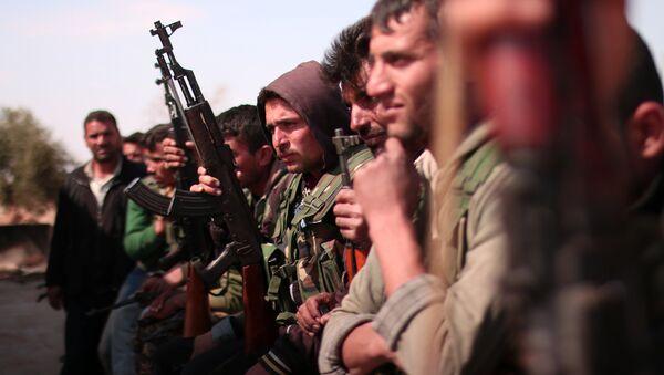 Forze Democratiche Siriane (SDF) sul fronte di Raqqa - Sputnik Italia
