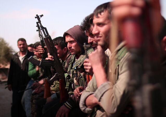 Forze Democratiche Siriane (SDF) sul fronte di Raqqa