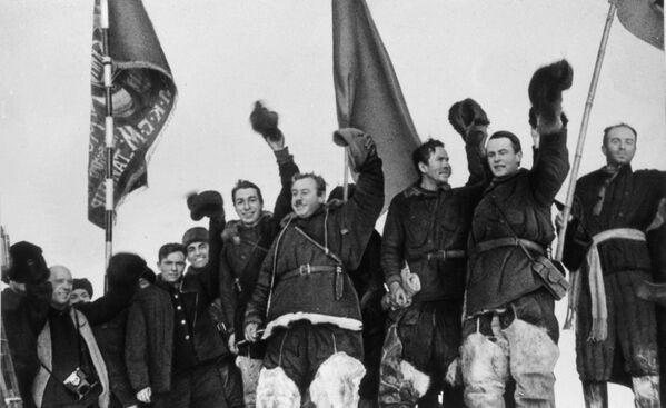 La spedizione polare sovietica Polo Nord - Sputnik Italia