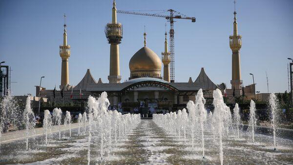 Il mausoleo Imam Khomeini a sud di Teheran. - Sputnik Italia