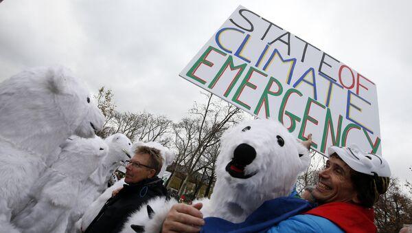 Manifestazioni contro il riscaldamento globale a Parigi (foto d'archivio) - Sputnik Italia