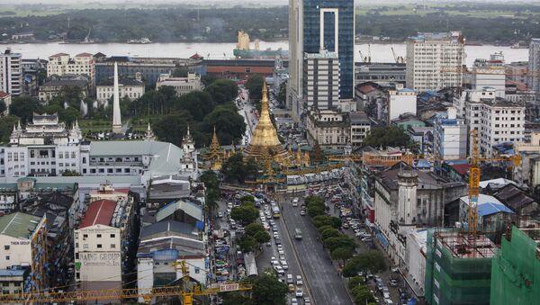 Città di Yangon, Myanmar (foto d'archivio) - Sputnik Italia