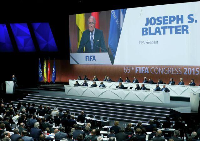 FIFA, intervento Joseph Blatter prima elezioni