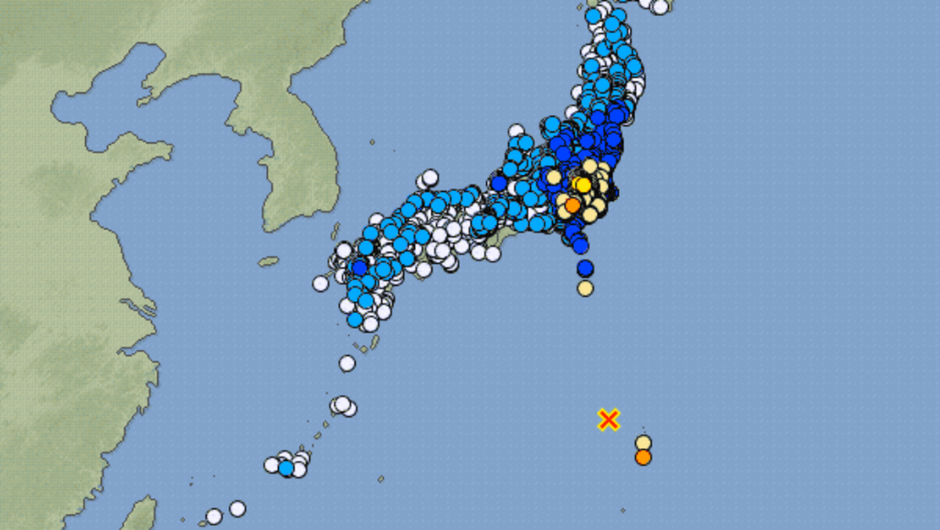 Terremoto Giappone - Sputnik Italia, 1920, 14.02.2021