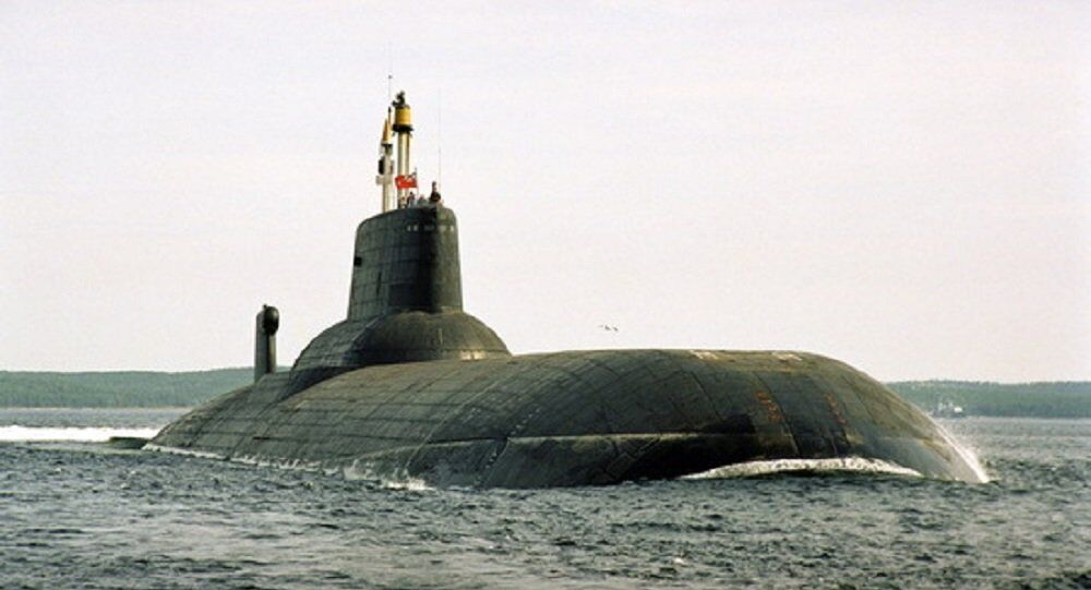 Sottomarino nucleare russo Dmitry Donskoy