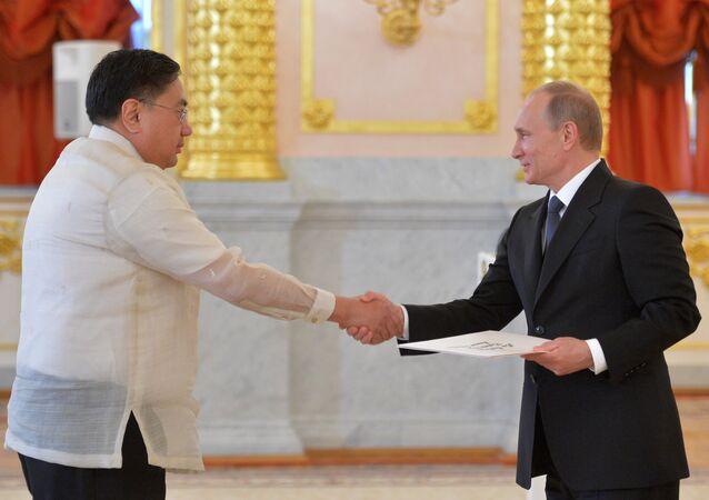 Vladimir Putin e Carlos Sorreta