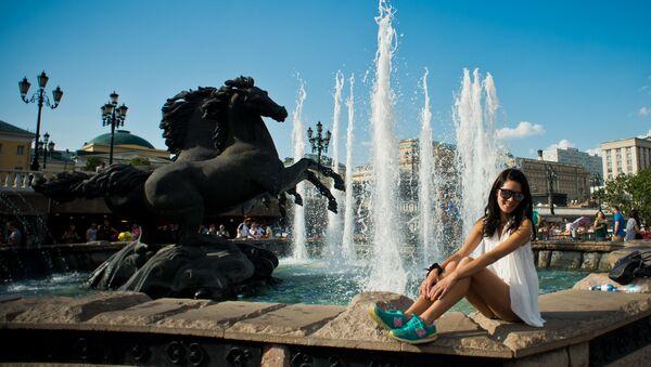 Una turista a Mosca - Sputnik Italia